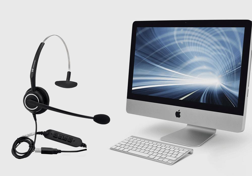 Tai nghe chăm sóc khách hàng Vbet VT5009 USB